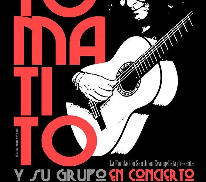 Cartel Concierto Tomatito