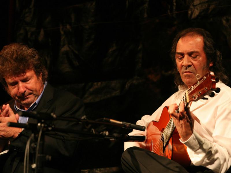 Enrique Morente y Pepe Habichuela