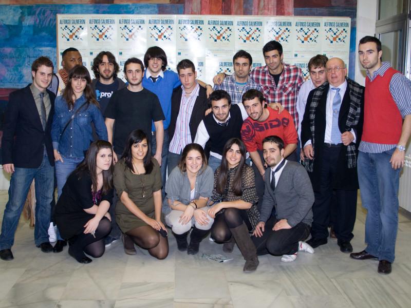 MIembros del Club de Música y Jazz San Juan Evangelista