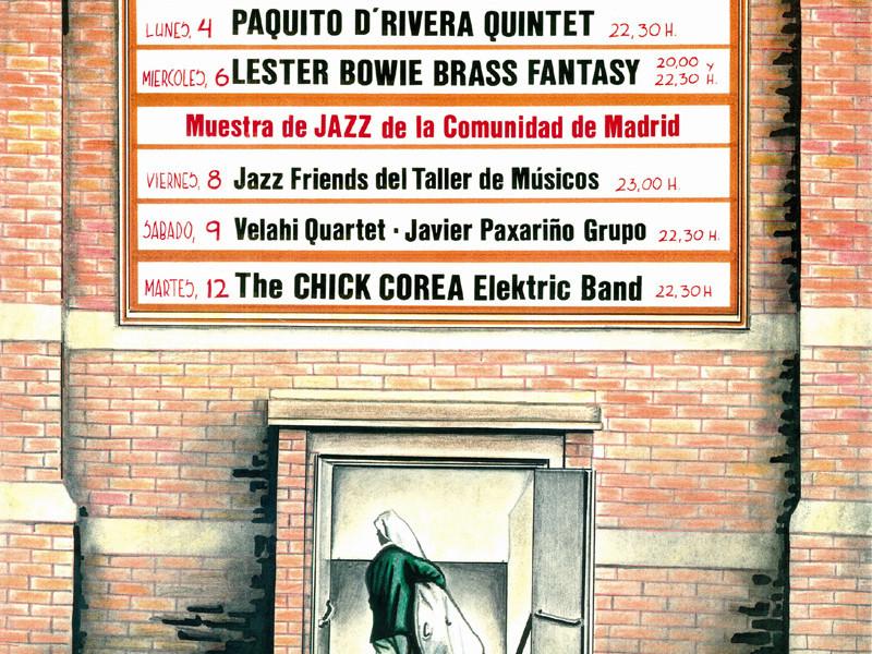 Cartel del Festival de Jazz 1992